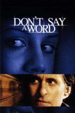 Nonton Movie Don't Say a Word (2001) Sub Indo